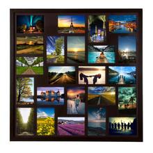 Painel de Fotos Big Castanho 70x70cm