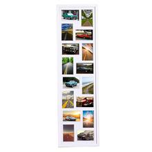 Painel de Fotos Caja Branco 33x114cm