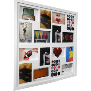 Painel de Fotos Multi Branco 60x60cm