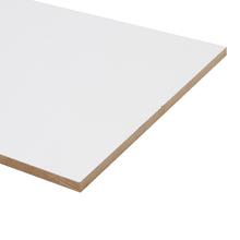 Painel de Madeira MDF Branco 120x40cm JR