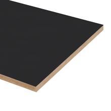 Painel de Madeira MDF Preto 60x30cm JR