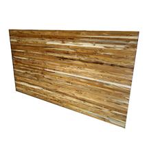 Painel de Madeira Natural Teca 1200x2200cm Share Wood