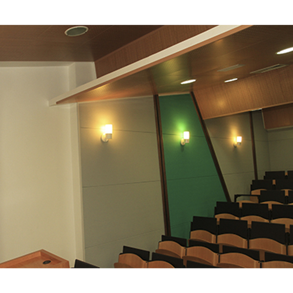 Painel ac stico decorsound rubi 0 6x0 6mx25mm isover for Leroy merlin isolamento acustico