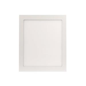 Painel LED de Embutir Quadrado Luz Amarela 10x60cm Bivolt