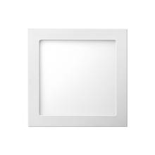 Painel LED de Embutir Quadrado Luz Amarela 22,5x22,5cm Bivolt