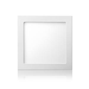 Painel LED de Embutir Quadrado Luz Amarela Bivolt