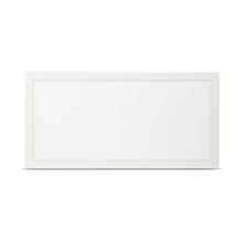 Painel LED de Embutir Quadrado Luz Branca 10x120cm Bivolt