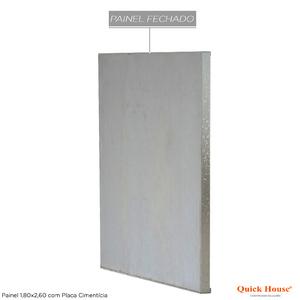 Painél Metalico 1,80x2,60m com Placa Cimentícia Quick House