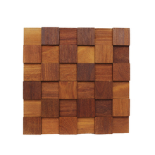 Painel Mosaico de Madeira 30x30cm NT Wood Line