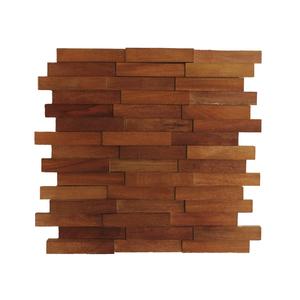 Painel Mosaico de Madeira 30x34cm NT Wood Line