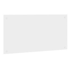 Painel sem Suporte Branco 90x50cm Cube Basic Spaceo