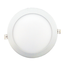 Painel Slim LED Diamante Redondo Embutir 25W Redondo Luz Branca Bivolt