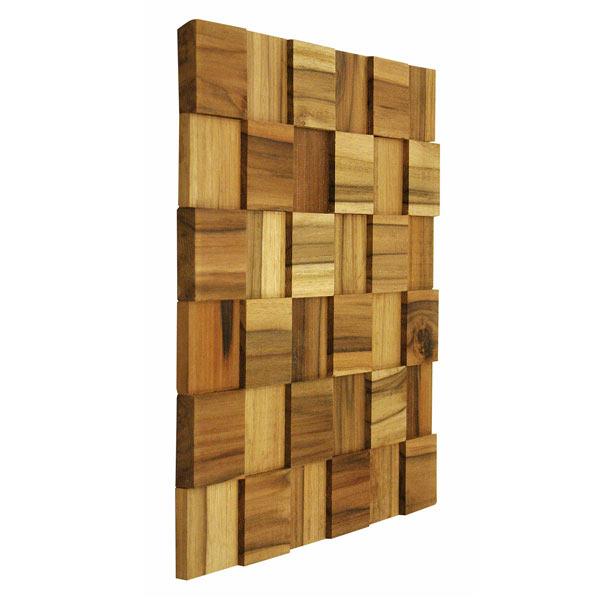 Painel mosaico de madeira 30x30cm tw brazil leroy merlin - Mosaico leroy merlin ...