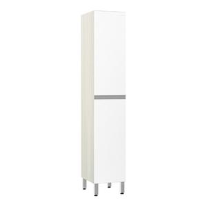Paneleiro de Cozinha 220x40x53cm Branco Prime Luciane