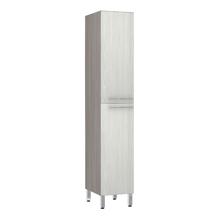Paneleiro de Cozinha 220x40x53cm Frassino Bianco Prime Luciane