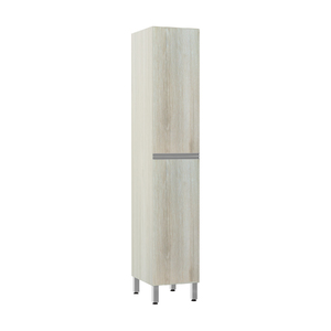 Paneleiro de Cozinha 220x40x53cm Legno Crema Prime Luciane