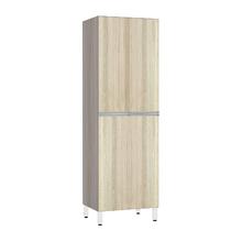 Paneleiro de Cozinha Duplo 220x70x53cm Cedro Prime Luciane