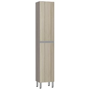 Paneleiro de Cozinha Raso 220x40x31cm Cedro Prime Luciane