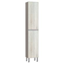 Paneleiro de Cozinha Raso 220x40x31cm Legno Crema Prime Luciane