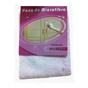 Pano De Microfibra Rosa 40Cmx40Cm Sertrading