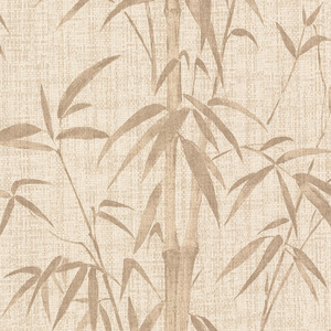 Papel de Parede Bambu Bege 0,53x10m Art Papier