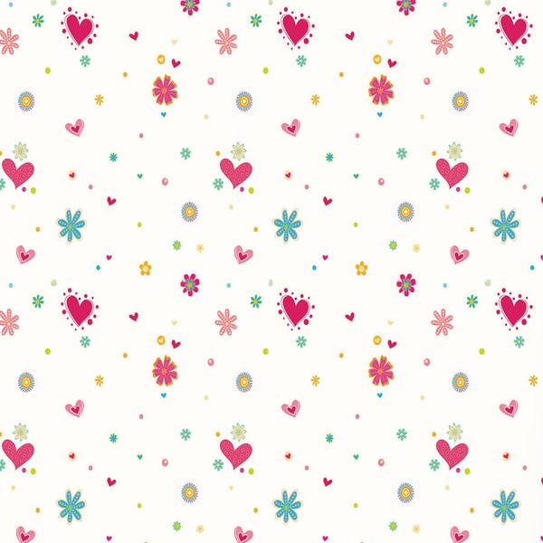Papel de parede vinilizado cora es rosa rolo com 6m - Papel para pared leroy merlin ...