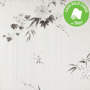 Papel de Parede Flores Rolo com 10m