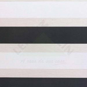 Papel de Parede Home Listrado 0,53x10m Cinza/Preto Art Papier