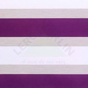 Papel de Parede Home Listrado 0,53x10m Uva Art Papier