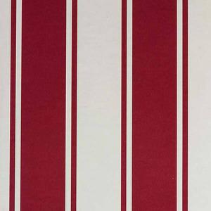 Papel de Parede Listrado Vermelho e Branco 0,53x10m Muresco
