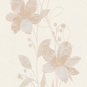 Papel de Parede sob Encomenda Floral  Rolo com 10m