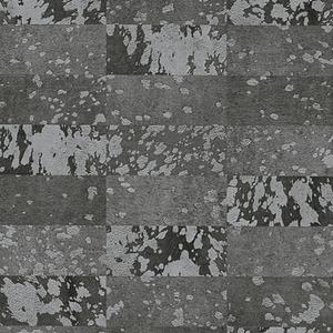 Papel de Parede Sob Encomenda TNT Cow Spots Pattern Cinza Rolo com 10m