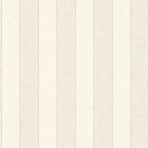Papel de Parede Sob Encomenda TNT Kingston Listras Branco Rolo com 10m