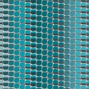 Papel de Parede sob Encomenda TNT Mac Azul Rolo com 10m
