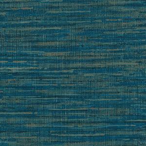 Papel de Parede Sob Encomenda TNT Texturizado Azul Rolo com 10m