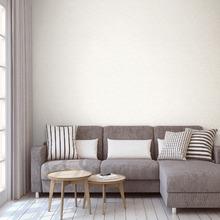 Papel de Parede Vinílico Arabesco Cotton Branco Rolo com 10m