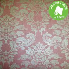 Papel de Parede Vinílico Bali Rosê Rolo com 10m