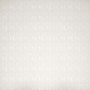 Papel de Parede Vinílico Geométrico Waves Bege e Branco Rolo com 10m