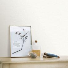 Papel de Parede Vinílico Mini Listras Branco Rolo com 10m