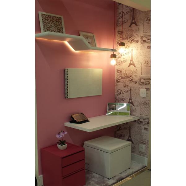 Papel de parede vin lico paris rosa rolo com 10m leroy - Papel vinilico para banos leroy merlin ...