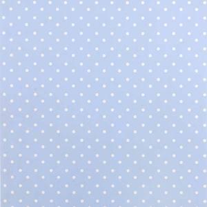 Papel Parede Bolinha Basic 0,52X10m Azul Plavitec