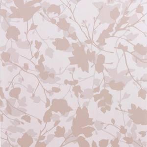 Papel Parede Home Floral 0,53X10m Bege/Branco Jvn