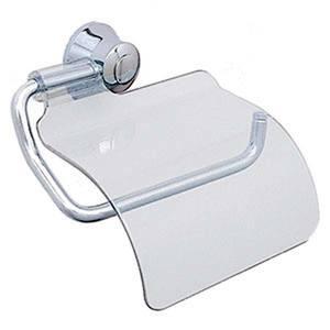 Porta papel higi nico metal e pl stico simples magnus for Portarrollos papel higienico leroy merlin