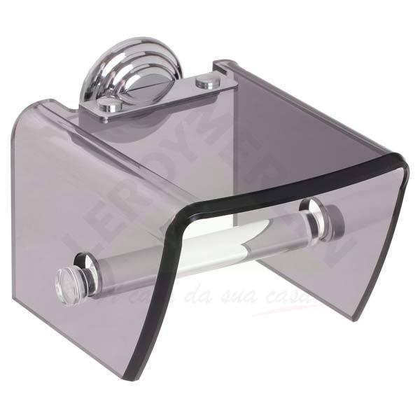 Porta papel higi nico pl stico simples formacril leroy for Portarrollos papel higienico leroy merlin