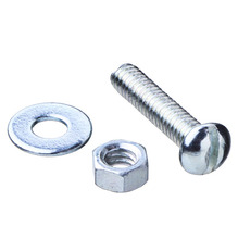 Parafuso de Aço para Metal 3,9x19mm Máquina Redonda Fenda 50 peças