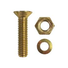 Parafuso de Aço para Metal 6x35mm Máquina Chata Philips 4 peças