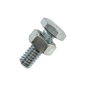 Parafuso Metal Aço 6x12mm Máquina Sextavada 2 peças