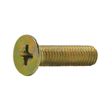 Parafuso Metal Aço Carbono 6x25mm Máquina Chata 200 peças