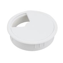 Passa Fio Branco 80mm Plástico Hettich