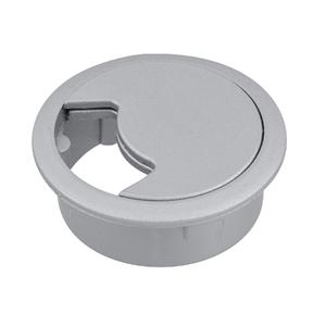 Passa Fio Prata 60mm Plástico Hettich